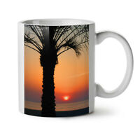 Sun Set Sea Water NEW White Tea Coffee Mug 11 oz | Wellcoda