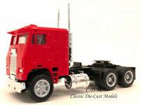 Freightliner COE 3 Axle Tractor w/Tilting Cab Red HO 1/87 Promotex 25238-RD