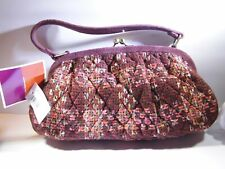 Vera Bradley Small Plaid Tweed Purse Kisslock NEW w/TAGS  #PW351