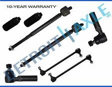 99-01 Honda Odyssey Front Inner & Outer TieRod Sway Bar End Link Kit 8pc