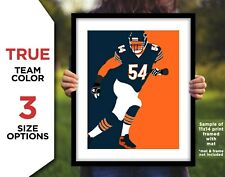BRIAN URLACHER Photo Picture CHICAGO BEARS Football Art 8x10 11x14 or 16x20