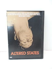 Altered States DVD Movie Science Fiction William Hurt Sensory Deprivation