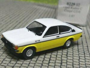 1/87 Wiking Opel Kadett C Coupe weiß gelb 0229 02
