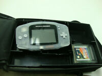 Nintendo GAME BOY ADVANCE Lot With 3 Game Boy Games & Case Tested Working