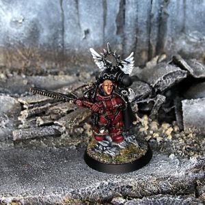 Pro painted Warhammer 40k Flesh Tearers Gabriel Seth miniature