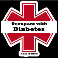 Diabetes Window Cling by Help Belts®
