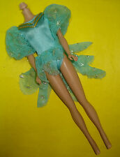 Barbie Style Fashionista Fashion Fever TAGGED Doll Clothes Blue BALLET BODYSUIT