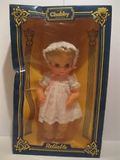 Very Rare New in Box 1960's Reliable All Vinyl Chubby Doll 16''