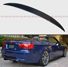FOR BMW E93 M3 2DR COUPE CONVERTIBLE HIGH KICK CARBON FIBER TRUNK SPOILER WING
