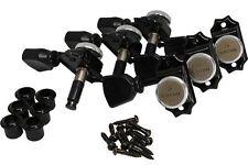 Gotoh Sd90 Magnum Lock Traditional Locking 3 x 3 tuners Black
