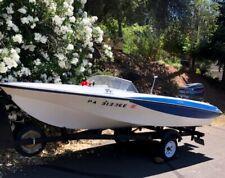 BEAUTY! POWER SPEED Boat +++ Free Trailer