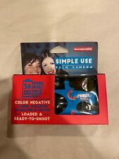 Lomography Color 400 Iso 36exp Disposable Single Simple Use Film Camera -Us