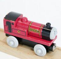Thomas & Friends Wooden Railway Train Engine Surprised Face Rheneas EUC 2008