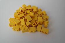 50 Lego Bausteine 1x2 gelb NEU Grundsteine Basic Steine 3004