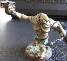 Games Workshop Lord of the Rings Moria Cave Troll fully painted