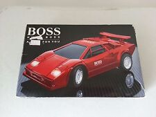 Vintage 1980's BOSS - Hugo Boss red luxury sports car with remote control