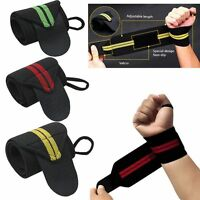 Fitness Padded Weight Lifting Training Gym Straps Hand Bar Wrist Support Gloves