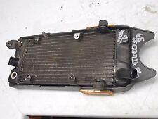 honda vt600c shadow 600 vlx600 radiator assembly 1993 1994 1995 1996 1997 1998