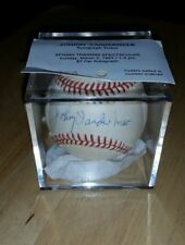 Johnny Vandermeer Autographed William D.White National League Baseball