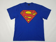 Superman T-Shirt Mens XL Vintage 90s DC Comics Made in USA Changes Single Stitch