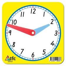 Clock 12hr Student (1 Piece) Math Teacher Resource Educational Teaching C school