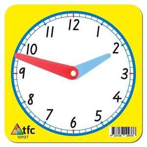Clock 12hr Student Math Teacher Resource Educational Montessori Learning Time