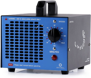 Airthereal Commercial Ozone Generator, 5000mg/h O3 Machine Home Air Ionizer