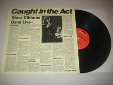 Steve Gibbons Band - live - Caught in the act  Vinyl  LP