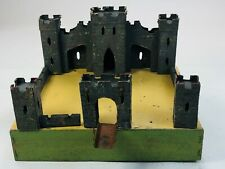 Vintage Wooden Toy Castle Antique early 1900