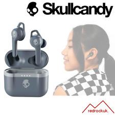 Skullcandy Indy Evo In-Ear True Wireless Headphones IP55 Ear Buds - Chill Grey