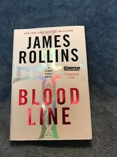 Blood Line by James Rollins (2012,Hardcover) SIGNED 1st Edition