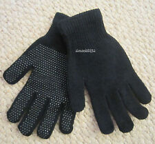 NEW BLACK STRETCH MAGIC CONTACT GLOVES ONE SIZE FITS ALL,KIDS-ADULTS,SYNTHETIC