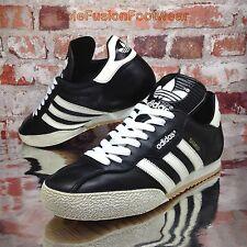Adidas Originals Para Hombre Samba Zapatillas Negro Talla 9 Súper Tenis Us 9.5 EU 43 1/3