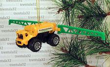 Field Watering FARM TRACTOR Farming CHRISTMAS ORNAMENT Yellow/Green Water Truck