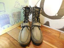 "Polo Ralph Lauren Gray Nubuck Ankle Boots ""Ranger"" Men's 12D"