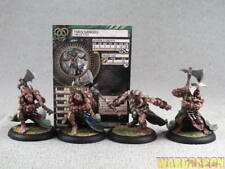 40mm Hordes WDS painted Circle Orboros Tharn Ravager Unit yy65