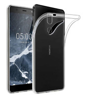 Case Cover Gel Silicone Transparent Clear For Nokia 7.1 (4G) 5.84""