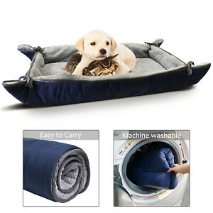 "Dog Pet Bed Beds Large Mat Washable Fluffy Cushion Plush Puppy 38"" x 25"""