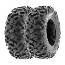 SunF 19x7-8 ATV Tires 19x7x8 All Terrain  6 PR A051 POWER II [Set of 2]