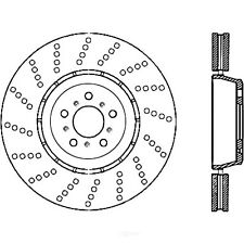 FRONT BRAKENETIC PREMIUM SLOTTED Brake Rotors+POSI QUIET Ceramic Pads BPK72383