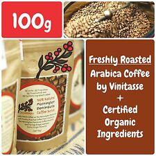 SEABERRY 100% Natural Mornington Peninsula Coffee Body Facial Scrub Organic 100g