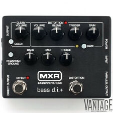 MXR M80 Bass D.I.+ Plus Distortion Direct DI Preamp Bass Effects Pedal