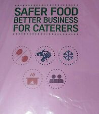 More details for safer food better business caterers pack 2019 +24 month diary full pack +a4 sign
