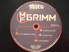 "MF DOOM - DOOMSDAY (REMIX) / NO SNAKES ALIVE / IMPOSTAS (12"")  2000!!!  RARE!!!"