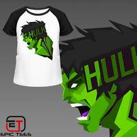 Marvel Hulk  T-Shirt. Mens / Womens / Kids / Comic Book