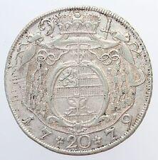 MAGMA  Salzburg, Hieronymus Colloredo , 20 Kreuzer 1779, ss-vzgl +/-