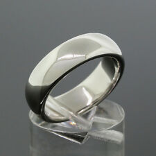 Tiffany & Co. Platinum PT950 6MM Wide Wedding Band Ring Size 6.5