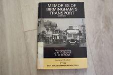 Memories of Birmingham Transport: Pt. 2 (Paperback, 1988)