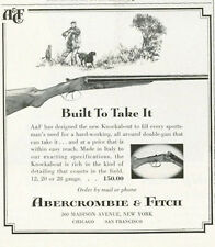 1961 Abercrombie & Fitch Vintage Knockabout Shotgun PRINT AD