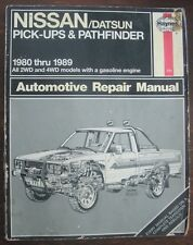 Nissan / Datsun Pick-ups & Pathfinder 1980-1989 Haynes Manual 771